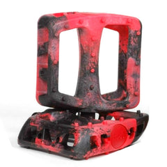 Odyssey Twisted PC Pedals black red swirl