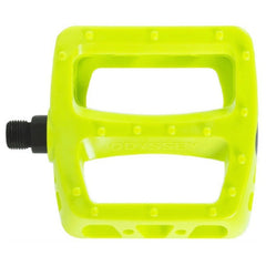 Odyssey Twisted PC Pedals fluorescent yellow BMX pedal