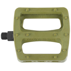 Odyssey Twisted Pro Pedals army green BMX Pedal