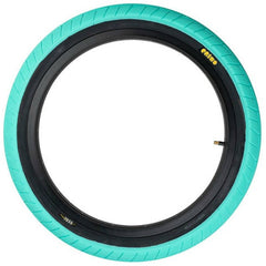 Primo 555C Tire tiffany blue teal BMX