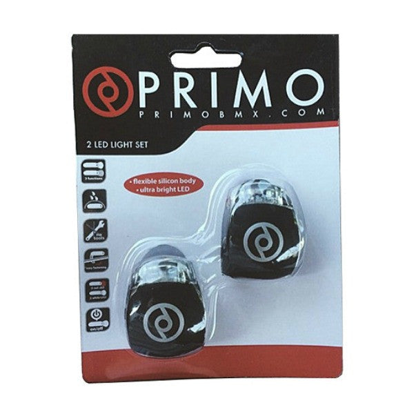 Primo Combo Lights BMX Bike Lights