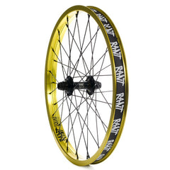 Rant Party On Front Wheel gold lemon