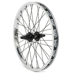 Rant Party On Cassette Rear Wheel polished BMX