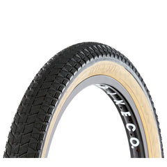 S&M Mainline Tire skin wall tan BMX Tires