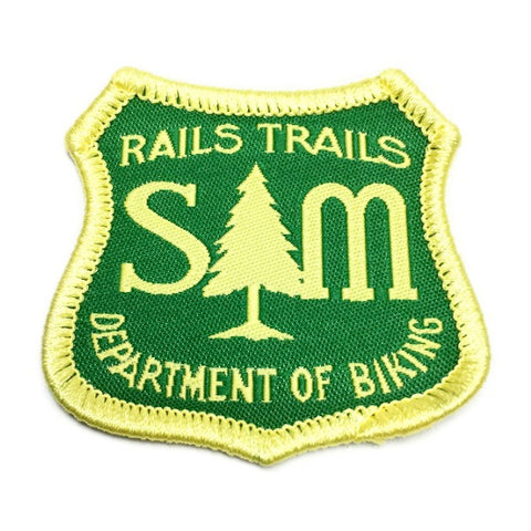 S&M Department of Biking Patch Trails and Rails