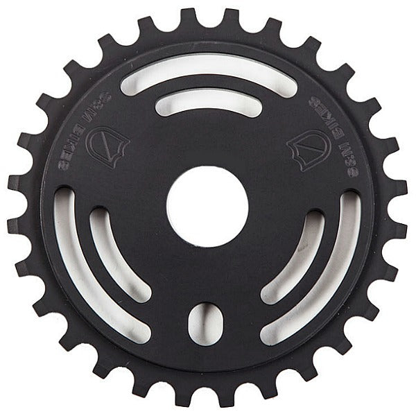 S&M Drain Man Sprocket Black BMX