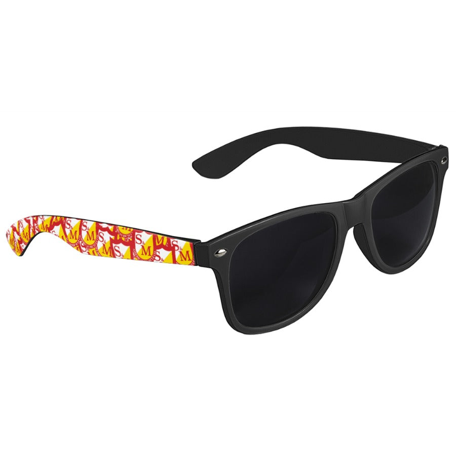 S&M Shield Shades black BMX Sunglasses