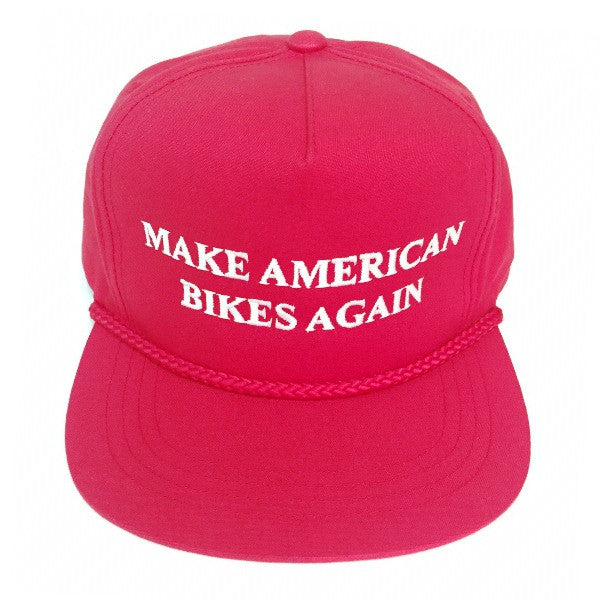 S&M Bikes Trumped Hat red make American bikes again
