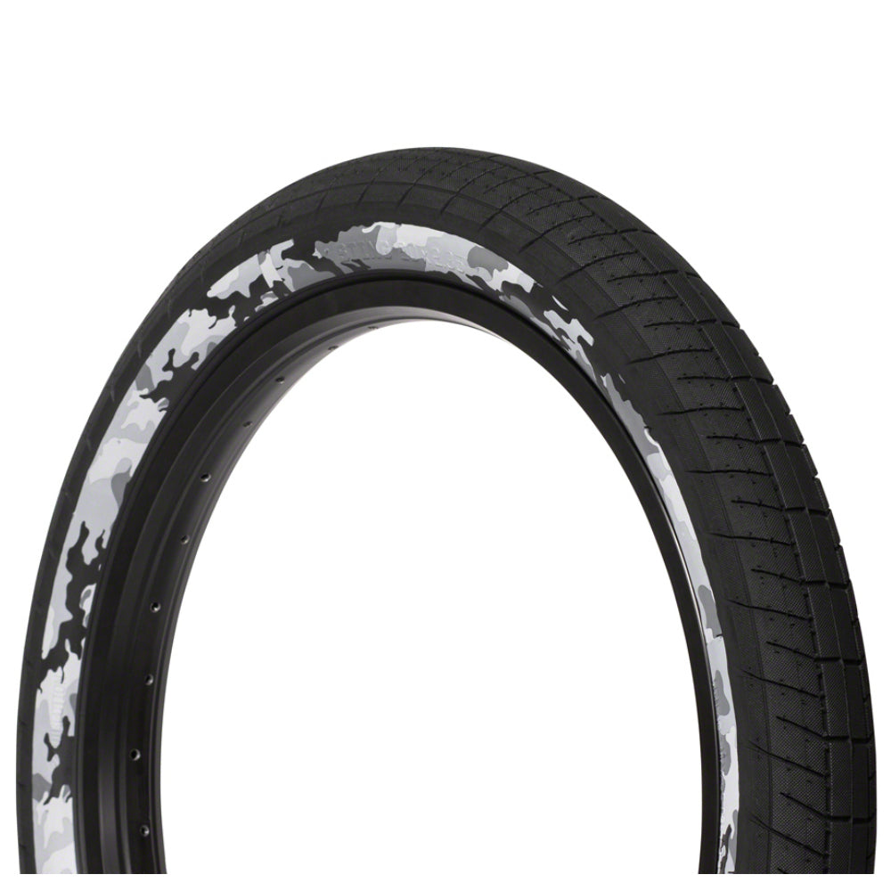 Salt Plus Sting Tire black snow camo side wall BMX Tires