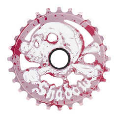 The Shadow Conspiracy Cranium Sprocket flesh and blood BMX