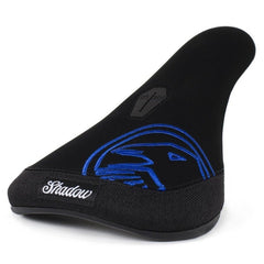 The Shadow Conspiracy Crow Seat Slim perma Blue BMX Seats