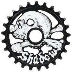 Shadow Conspiracy Cranium Sprocket black BMX