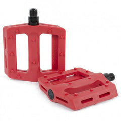 Shadow Surface Pedals red BMX