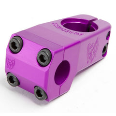 S&M Shredneck Stem purple BMX