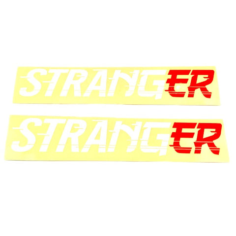 Stranger Drift Logo Sticker pack BMX Stickers