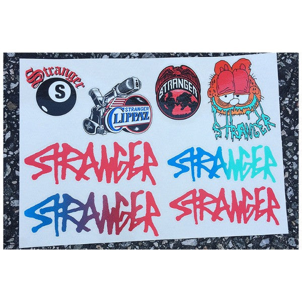 Stranger Sticker Pack BMX