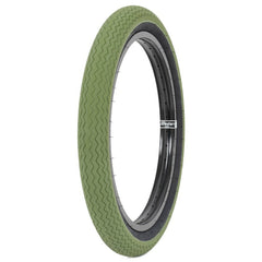 Subrosa Sawtooth Tire army green BMX Tires