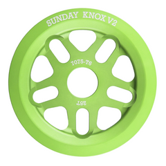 Sunday Knox V2 Sprocket electro green BMX Sprockets