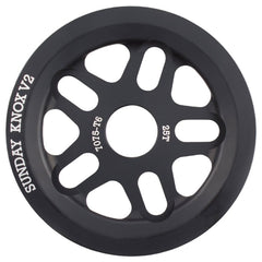 Sunday Knox V2 Sprocket black BMX Sprockets