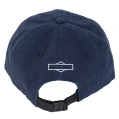 Sunday Rockwell Box Unstructured Hat navy blue BMX