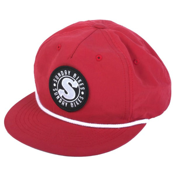 Sunday Bradge Hat red BMX