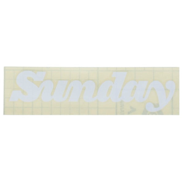 Sunday Classy Die Cut Sticker BMX Decal