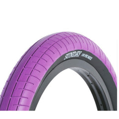 Sunday Street Sweeper Tire purple