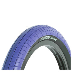 Sunday Street Sweeper Tire blue BMX