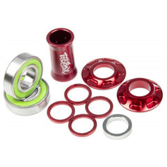 Total Bottom Bracket red BMX