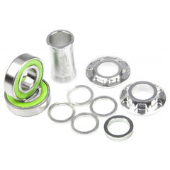 Total Bottom Bracket polished bmx