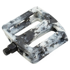 Twisted Pro Pedals white black BMX