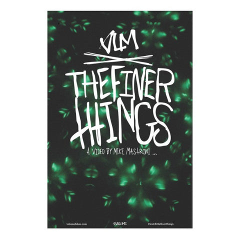 Volume The Finer Things DVD