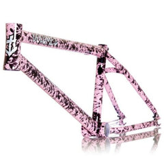 Volume Vessel Frame pink splatter Disco Stew BMX