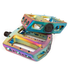 Fit Mac PC Pedals oil slick BMX Pedal