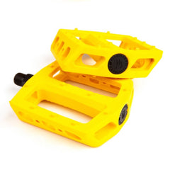 Fit Mac PC Pedals yellow BMX Pedal