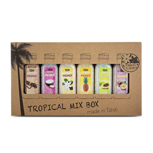 Bath Salt 6X30 Ml Tropical Mix Box