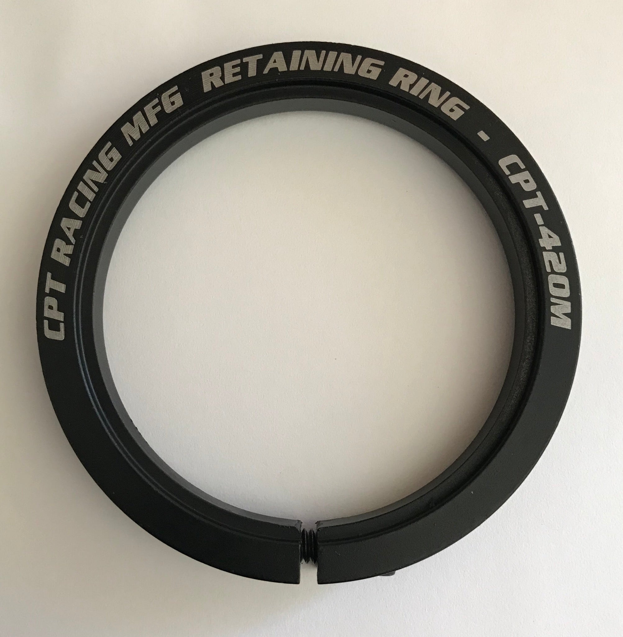 "MACHINED RETAINING RING (3"" I.D.) - Part#: CPT-410M"