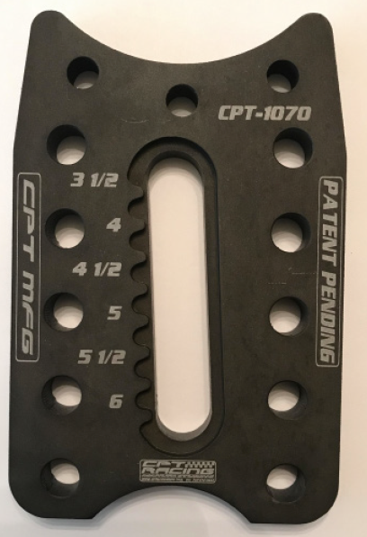 CLIMBER BOTTOM SHOCK PLATE - Part#: CPT-1011C