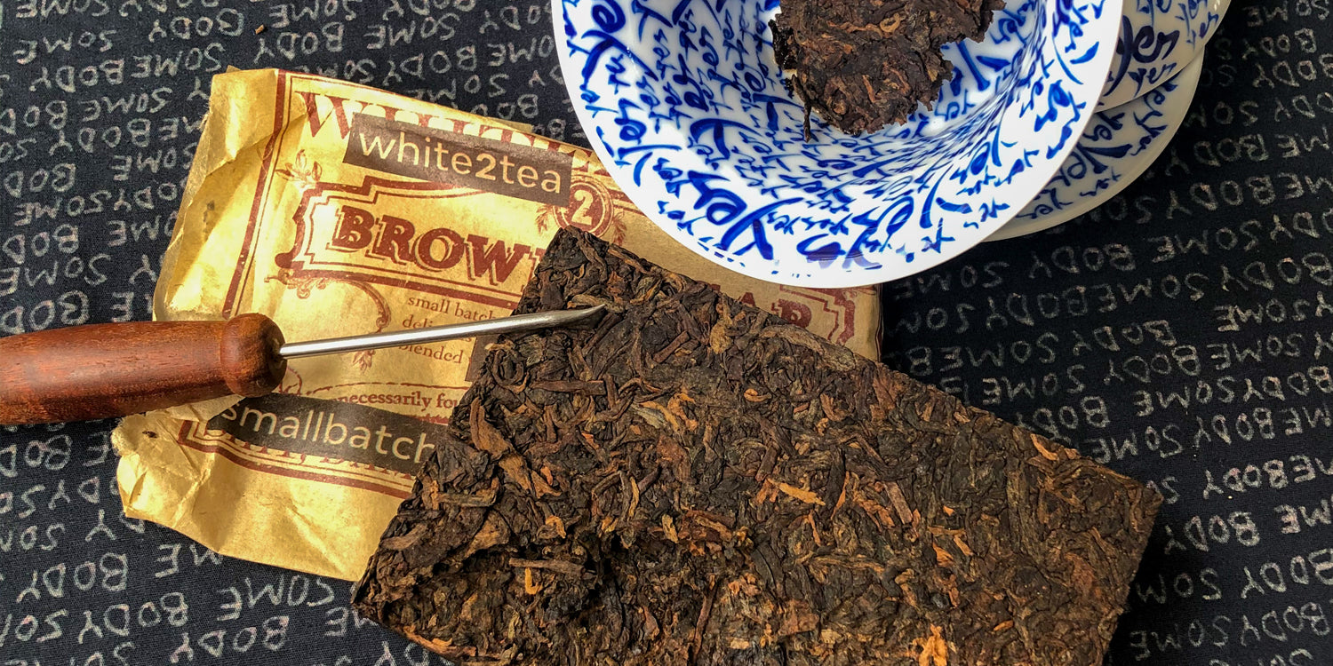 What is small batch shou Puerh tea?