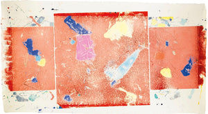 Sam Francis - Monotype - Untitled - 1982