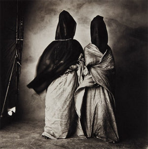 IRVING PENN -  Guedras in the Wind (Morocco), 1971