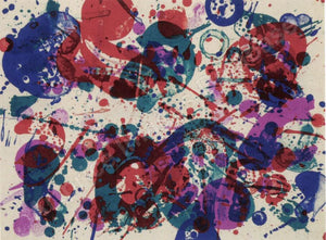 Sam Francis - Untitled - Unique trial proof (1964)