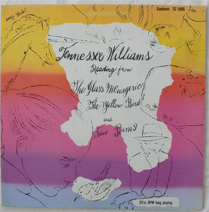 Andy Warhol - Tennessee Williams - Reading from the Glass Menagerie - Original Pressing - 1960