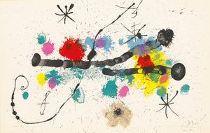 Joan MIro - Je travaille comme un Jardinier - Variant of the cover - M418
