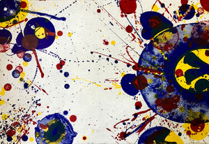 Sam Francis - Another set Y (right panel) - 1964 - SF75