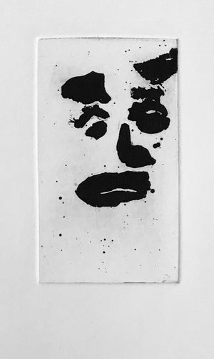 Sam Francis - Self Portrait - SFE 299  - 1982 - Aquatint