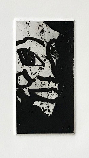 Sam Francis - Self Portrait - SFE 302  - 1982 - Aquatint