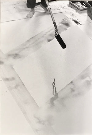 Kurt Blum - Sam Francis - 1980 - Original Photograph