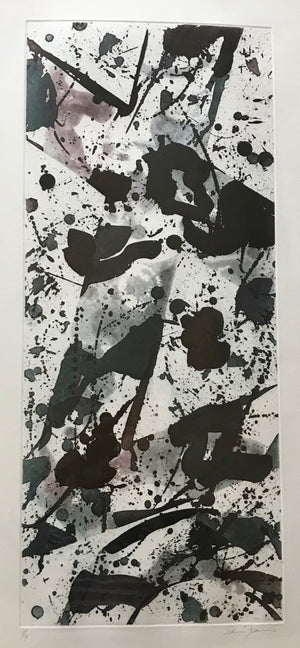 Sam Francis - Untitled - SFE 17  - 1984 - Aquatint