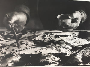 Kurt Blum - Sam Francis (at Kornfeld) - 1966 - Vintage Photograph